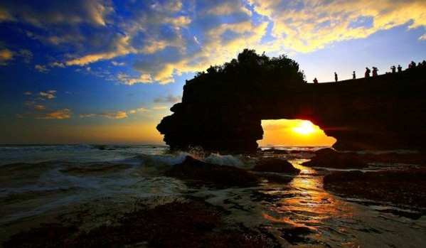 Pura batu bolong Sengigi Lombok