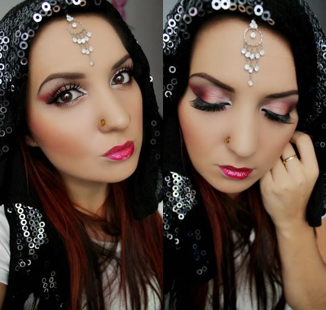 Praktycznie Kosmetycznie Makijaż Zainspirowany Mazidłem Bollywoood