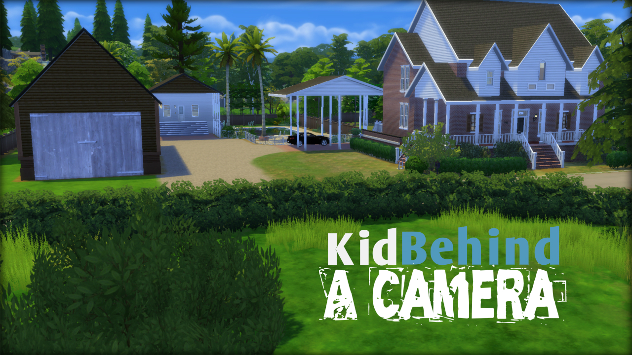 Kidbehindacamera house build the sims 4 download the for Build a house online free