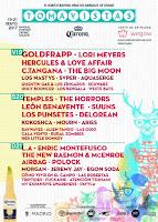 Cartel por días Tomavistas Festival 2017