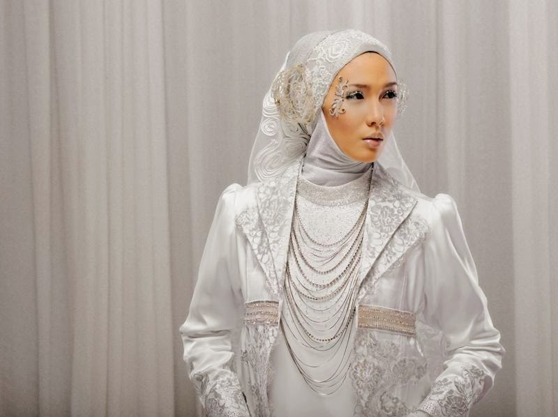 kerudung pengantin