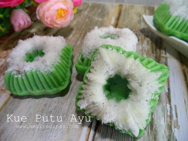 Resep Kue Putu Ayu