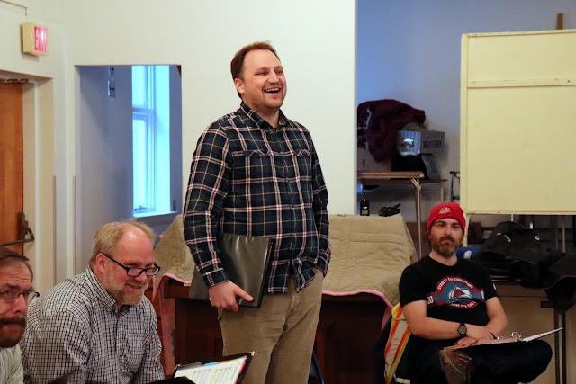 As Choir committee VP, Christoph keeps us in line, choir business-wise