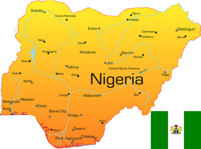 Top Most Industrialized States In Nigeria Akelicious - Where is nigeria located