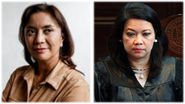 Image result for images of maria lourdes sereno with leni robredo