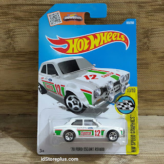 HOT WHEELS '70 FORD ESCORT RS1600 CASTROL HW SPEED GRAPHICS 10/10