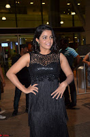 Wamiqa Gabbi in a sleeveless Black Designer Transparent Gown at 64th Jio Filmfare Awards South ~  Exclusive 049.JPG