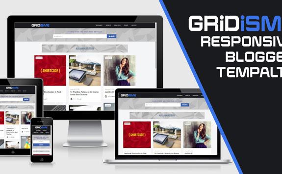 Gridisme - Template Responsive yang Super Cepat Loadingnya