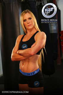 Holly Holm is spokesperson for Ionamin OTC