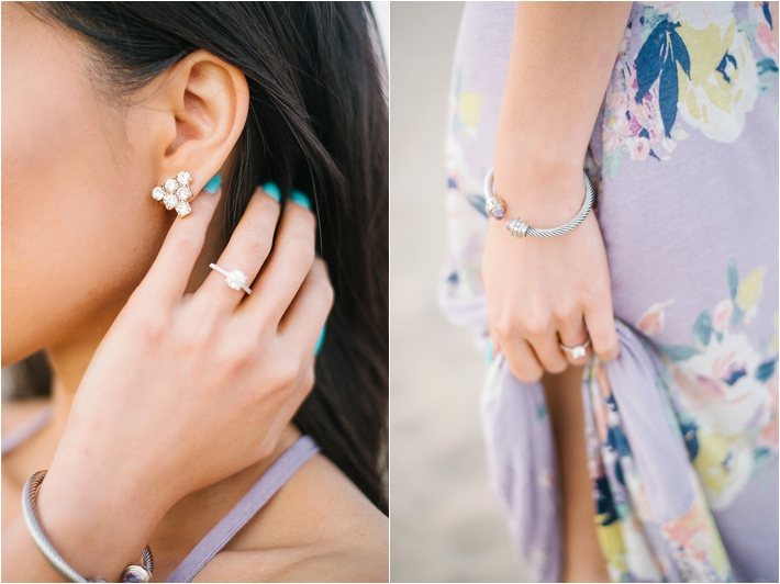 Gorgeous Stylish Santa Monica Engagement Session | Jenna Bechtholt Photography