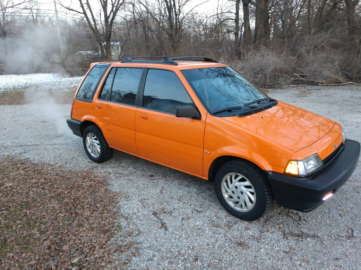Daily Turismo: Orange Is The New Whack: 1987 Honda Civic RT Wagon