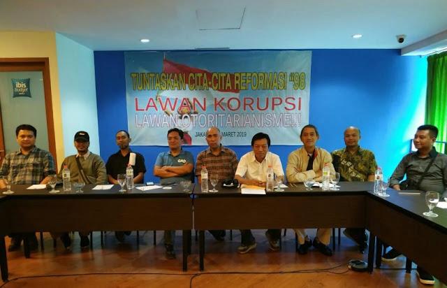Empat Tahun Jokowi Berkuasa, Aktivis 98: Korupsi Merajalela, Lawan Politik Dipenjara