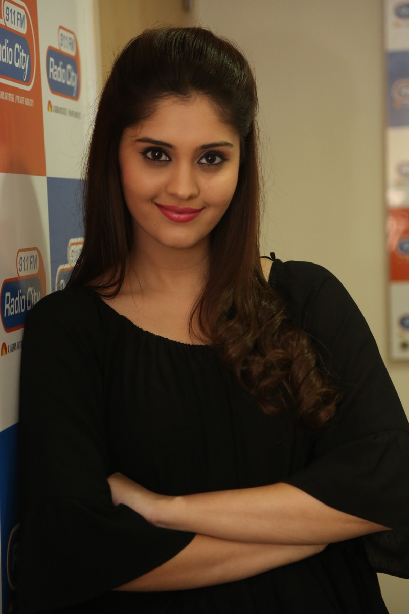 Surabhi Latest Photos In Black Dress