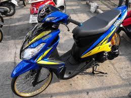 Contoh Gambar Modifikasi Honda Beat Velg 17