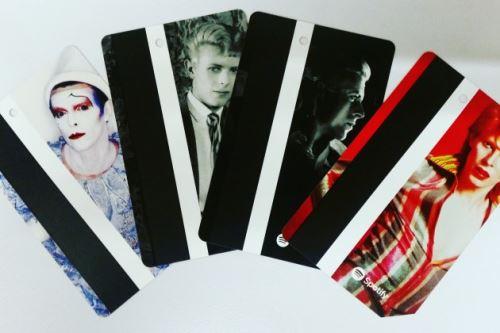 David Bowie κάρτες metro