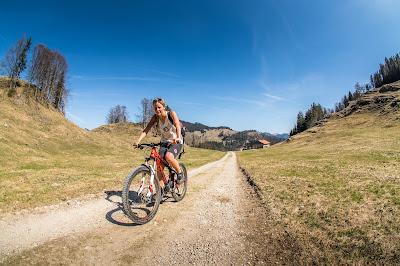 Biketour aufs Kranzhorn in Erl inklusive GPS Track