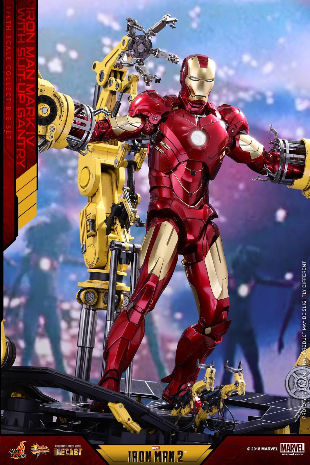 toyhaven: Hot Toys 1/6th scale Die-cast Iron Man 2 - Mark ...