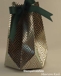 Sternenbox mit dem Gift Punch Board von Stampin´ Up!