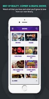 aplikasi tv streaming untuk IOS