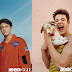 Anwar Hadid and Cameron Dallas pose with puppies for Teen Vogue