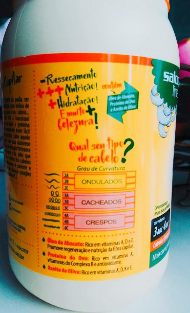 MAIONESE CAPILAR DA SALON LINE UMA NUTRIÇÃO PRA LÁ DE  PODEROSAAAAAAA/ Resenha