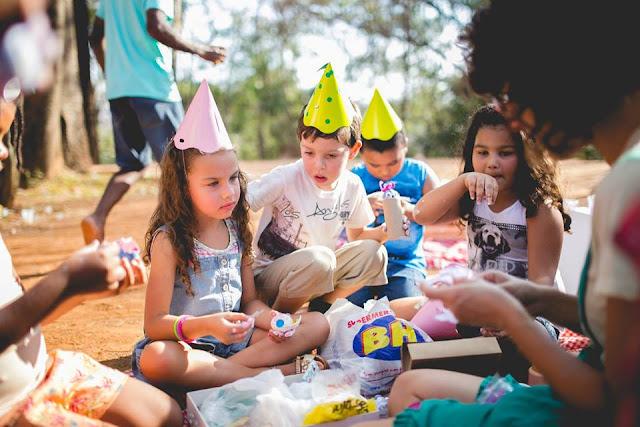 Aniversário Tema Dinossauro - Meninas - DIY - Belo Horizonte - festa no parque -  brincadeiras - Ciranda de Roda