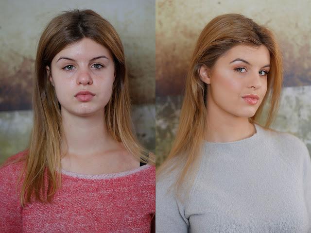 rozświetlający makijaż