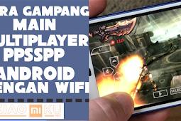 Cara Multiplayer Game PPSSPP Android dengan WiFi, Gampang Banget Dijamin Work!