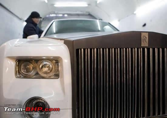 rolls royce phantom replica diy