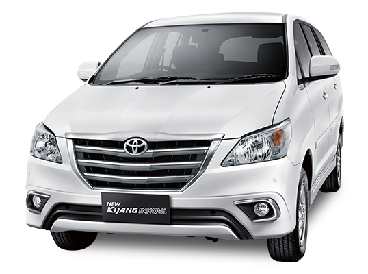 Toyota Grand New Kijang Innova Super White