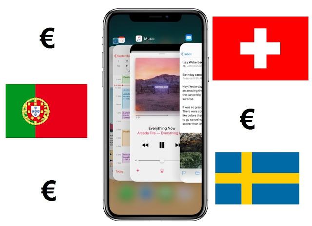 882fb4265 Depois de desmistificada a questão do iPhone X de $999 nos EUA, resta a  questão de poder poupar dinheiro sem ter que sair da Europa - que como bem  sabemos, ...