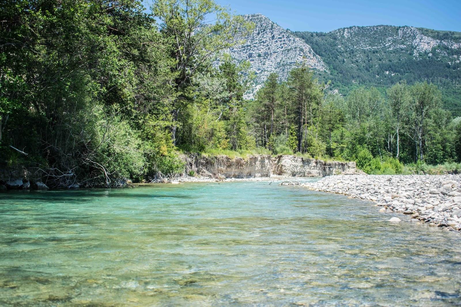 paysage baignade eau turquoise
