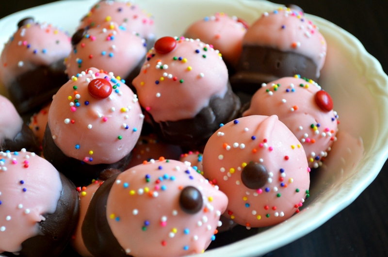 For The Love Of Dessert No Bake Cake Batter Truffles