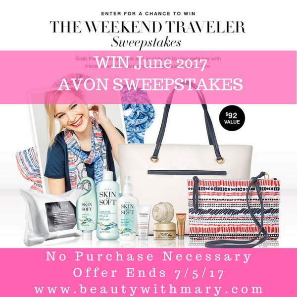 Avon Sweepstakes Junes 2017
