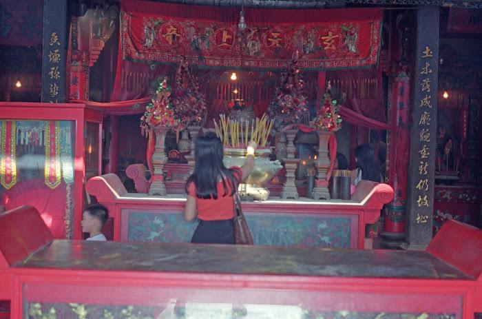 Hong Kong, Cheung Chau, temple Pak Tai, © L. Gigout, 1990