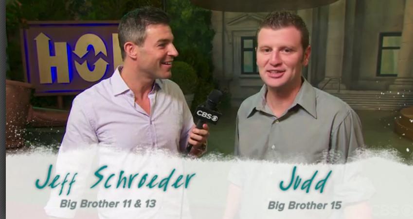 Big Brother USA Live Feed Updates: Jeff Schroeder's ...