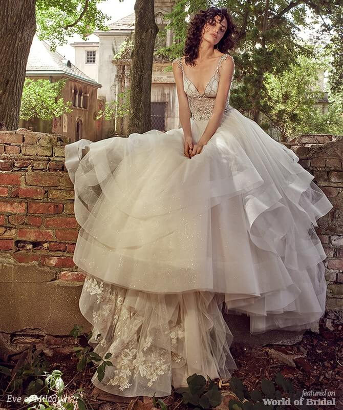 Eve Of Milady Bridal Wedding Dress Collection Fall 2018: Eve Of Milady 2018 Bridal Collection