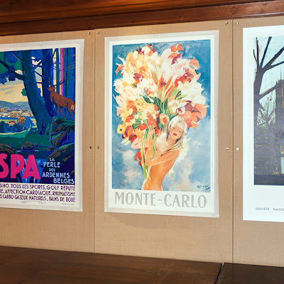 New Acquisitions, Original Travel Posters.
