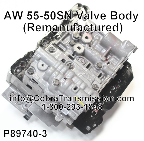 Cobra Transmission Parts 1-800-293-1848: AW55-50SN, AW55