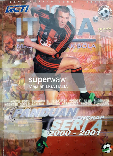 SOCCER MAGAZINE COVER ANDRIY SHEVCHENKO OF AC MILAN
