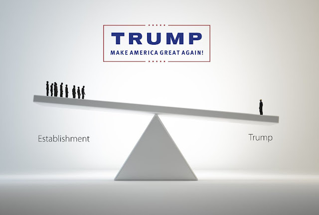 Trump against the establishment
