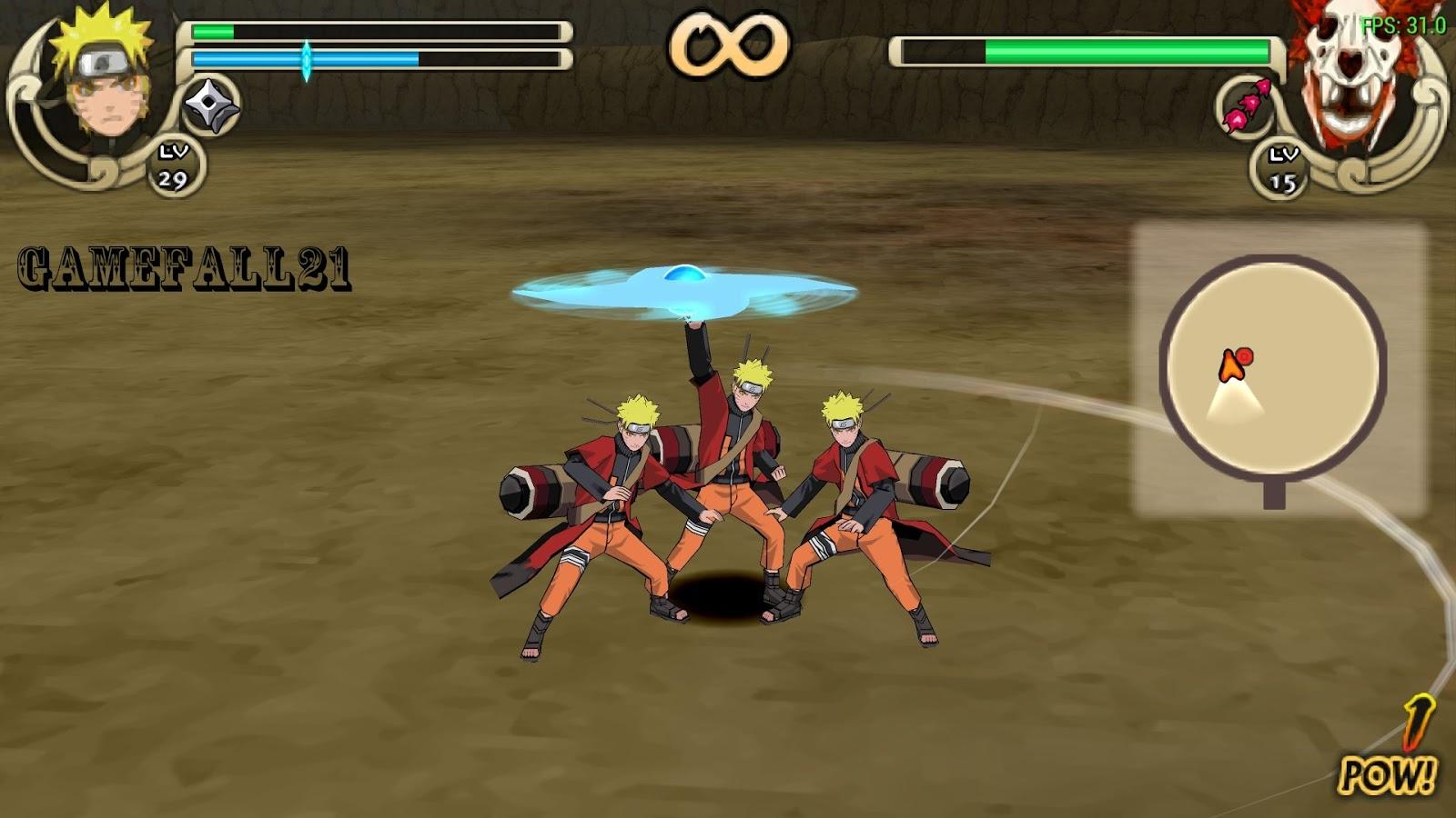 Naruto Shippuden Ultimate Ninja Impact PPSSPP v USA .iso Settings