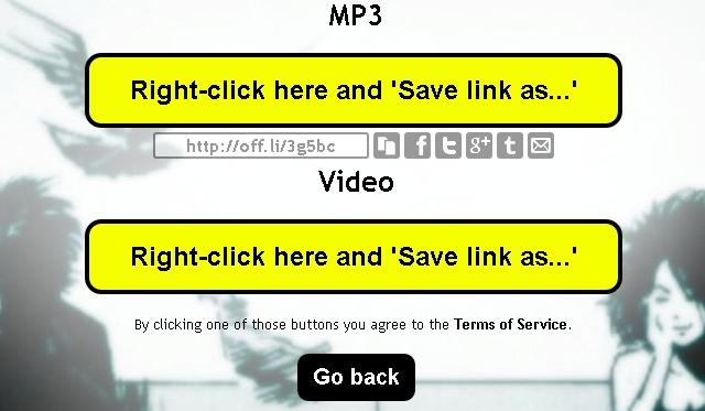 Offliberty aplicación para descargar vídeos y audios par PC y Android