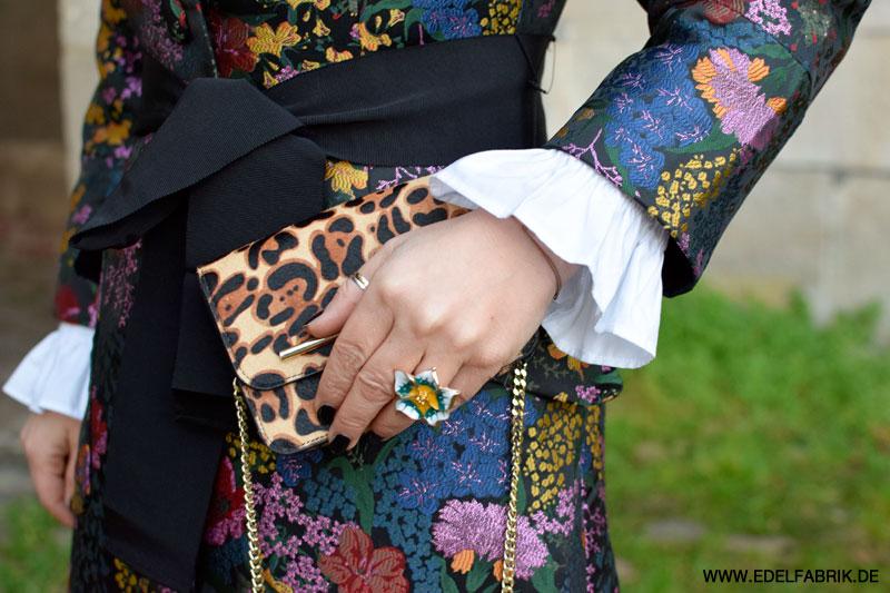 Erdem Kooperation mit H&M, Blumenmantel, bestickter Mantel