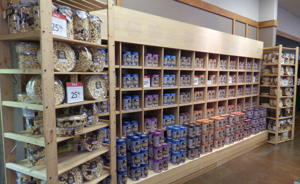 Moose Munch Wall, Harry and David, Medford Oregon