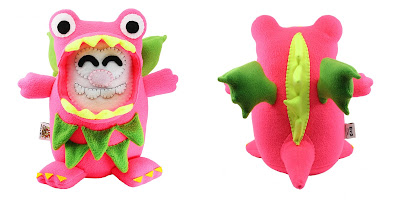 San Diego Comic Con 2018 Exclusive Puffridge Dragon Fruit Plush by Furry Feline Creatives