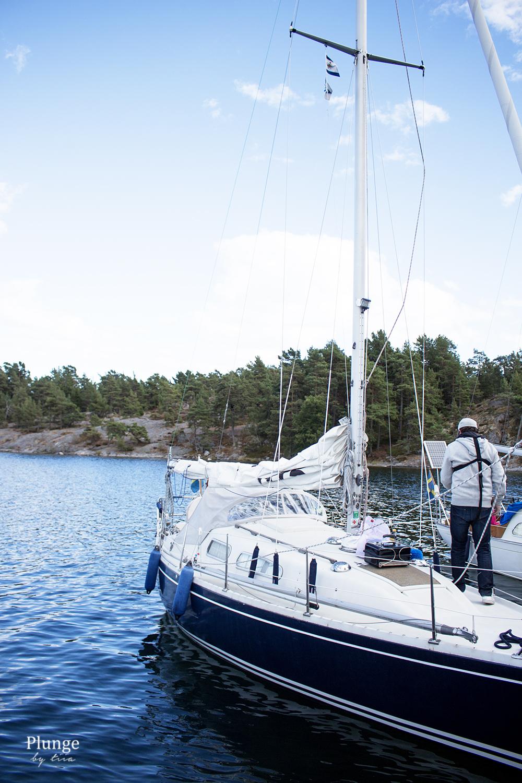 Sailing in Stockholm Archipelago