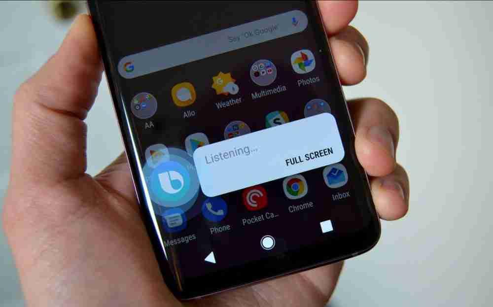Bixby On Samsung Galaxy S9
