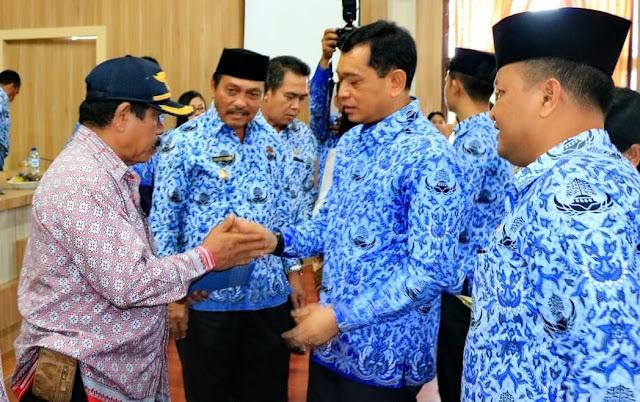 JR Saragih Bupati Simalungun Ajak ASN Jaga Kekompakan