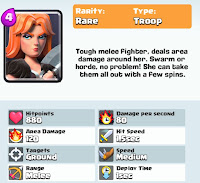 Clash Royale Valkyrie card pic